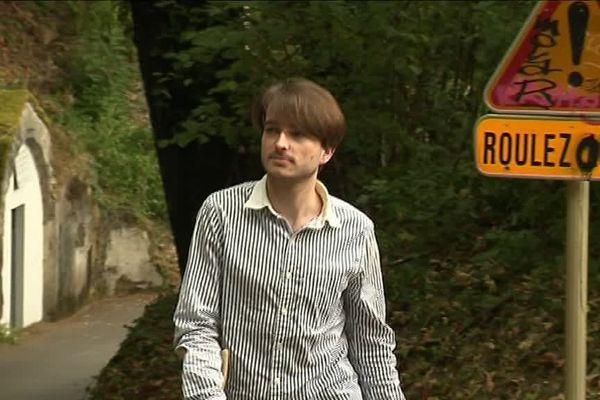 Max Rozzi a attaqué par un chamois vendredi 3 août lorsqu'il faisait son footing sur le chemin des grottes Saint-Léonard