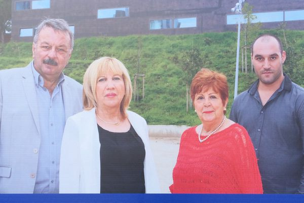 Joseph Martelli et Anne-Marie Piacentini (Anthony Muratori et Henriette Baccarelli) candidats PRG à la départementale partielle de Bastia 3