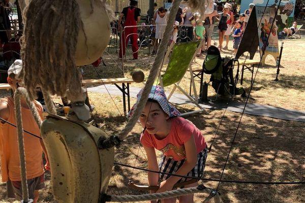 Chalon dans la rue 2018 : le jardin des kids