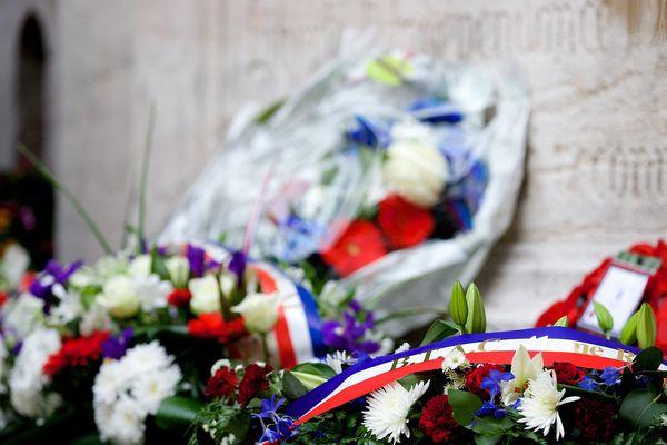 Cérémonie de commémoration à l'occasion de l'anniversaire de la libération des camps