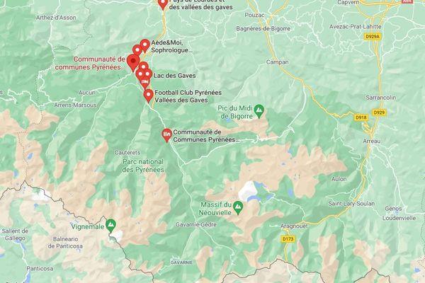 Le Pays des Vallées des Gaves est constitué de 5 vallées pyrénéennes situées au sud-ouest du département des Hautes-Pyrénées, entre Lourdes et Gavarnie.