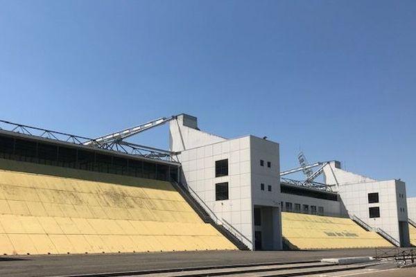 Le stade des Costières à Nîmes - 2020.