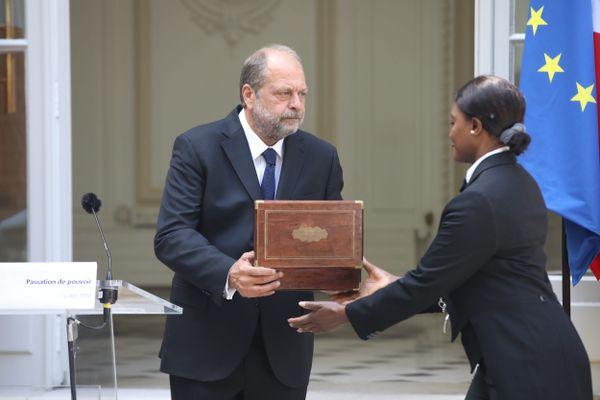 Me Eric Dupond-Moretti devient garde des Sceaux lors de la cérémonie de passation ce mardi 7 juillet.