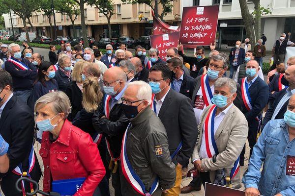 Valence : une manifestation de soutien à la Foire du Dauphiné