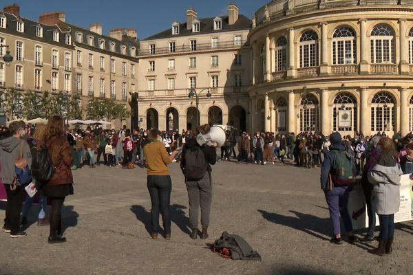 Manifestation pour le droit à l'avortement à travers le monde, Rennes le 26 septembre 2020