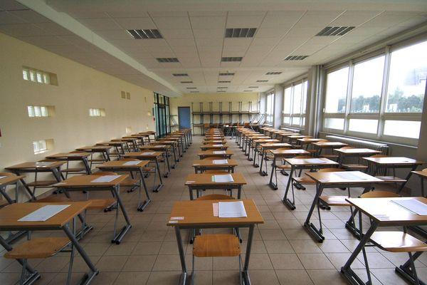 Les salles de classes sont prêtes à accueillir les 16000 lycéens bourguignons pour les épreuves du baccalauréat.