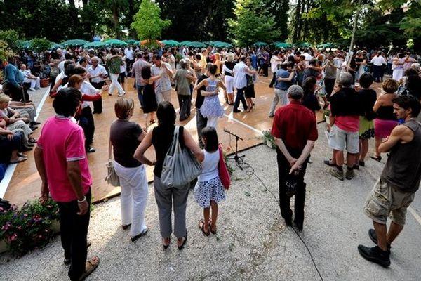 Milonga, bal de tango argentin, au jardin Massey