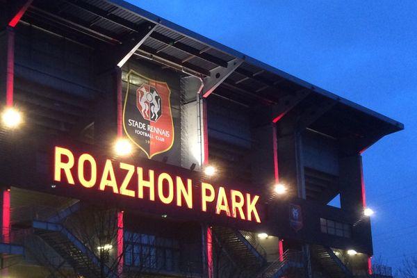Le Roazhon Park un soir de match