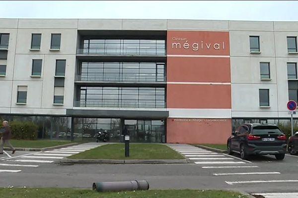 La clinique Mégival près de Dieppe