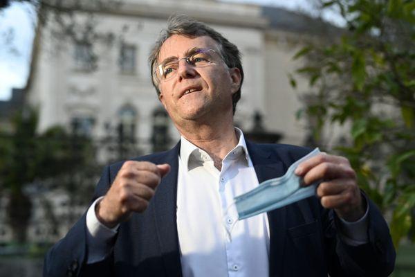 Serge Grouard, nouveau maire (LR) d'Orléans visé par une enquête préliminaire.