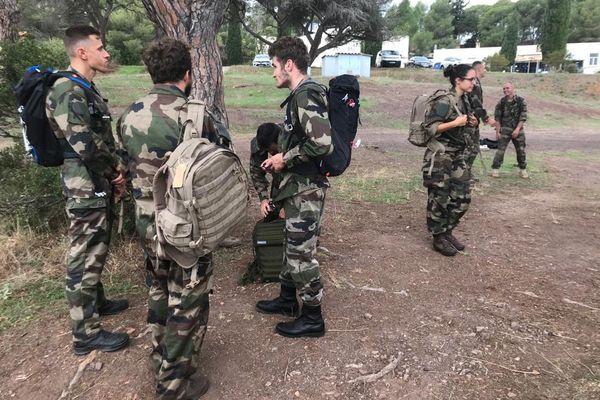 Durant une semaine, 90 sportifs de haut niveau sont en immersion totale au 21ème régiment d'infanterie de marine de Fréjus