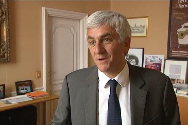 Hervé Morin, président (UDI) du conseil régional de Normandie