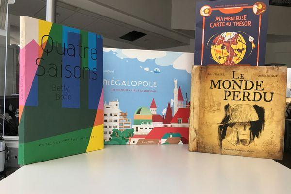 4 livres pour enfants hors-format