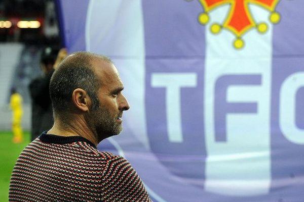 Pascal Dupraz, l'entraîneur du TFC