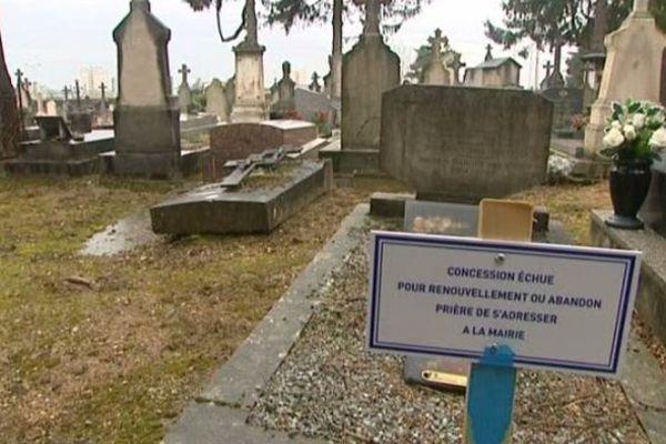 cimetière à Mâcon