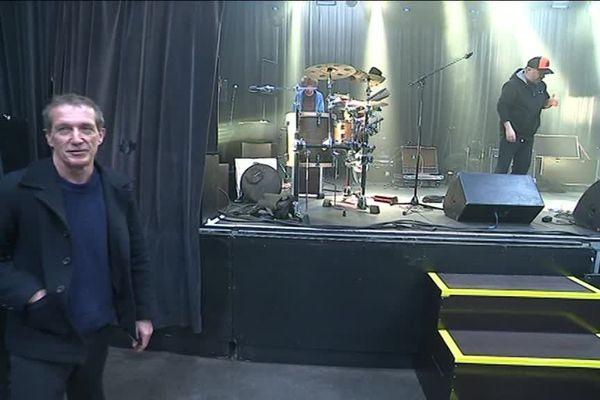 Christophe Miossec avant son concert le 28 mars au Big Band Café à Hérouville St-Clair.