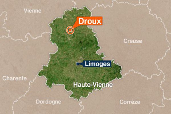Les deux poids lourds se sont percutés à l'intersection de la D7 et de la RN 145 sur la commune de Droux