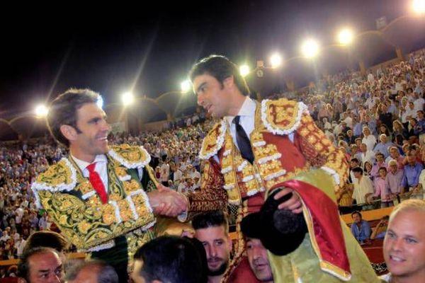 José Tomás et Miguel Ángel Perera. Le triomphe de deux grandioses toreros. Algeciras, 29 juin 2018.