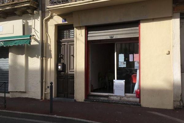 Le restaurant des filles se situe dans le quartier Gambetta à Béziers - 8 février 2020