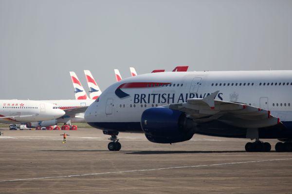Plusieurs avions A380 sont stockés à l'aéroport de Châteauroux depuis le mois d'avril.