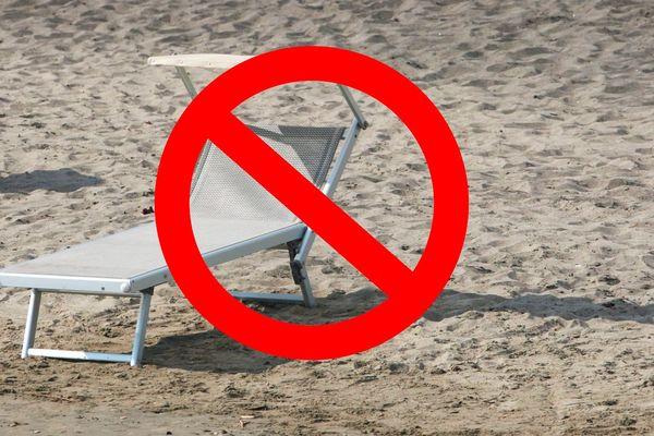 Certaines plages sont fermées suite au non respect des consignes sanitaires