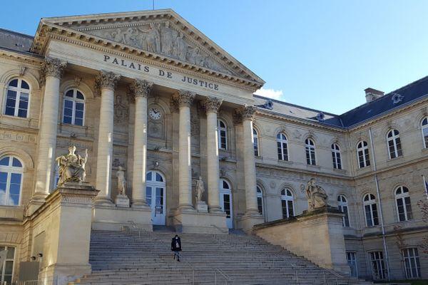 Palais de justice d'Amiens, octobre 2020