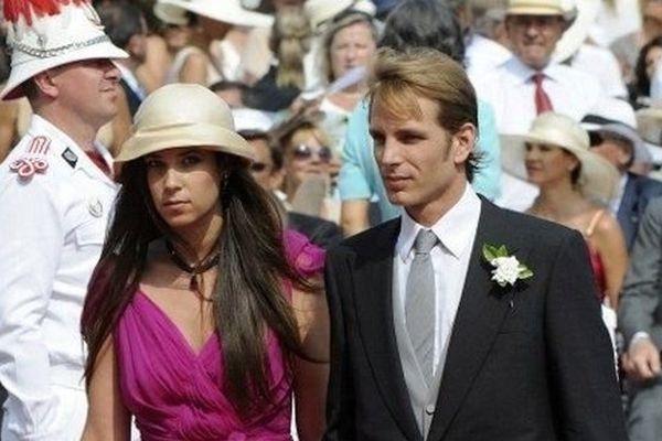 Andrea Casiraghi, fils aîné de la princesse Caroline de Monaco, et Tatiana Santo Domingo se sont mariés civilement le 31 août dernier à Monaco
