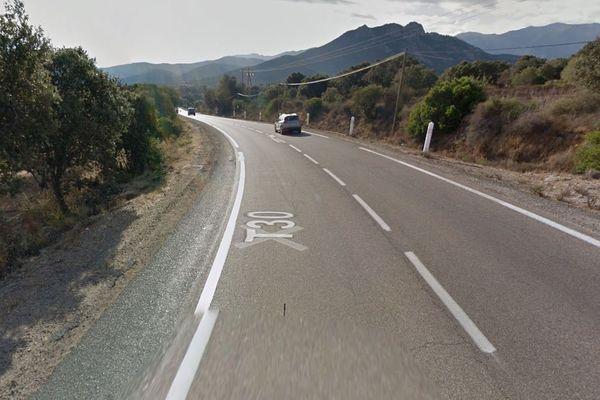 L'accident s'est produit sur la RT 30, dans la commune de Palasca, sur la route de l'Ostriconi