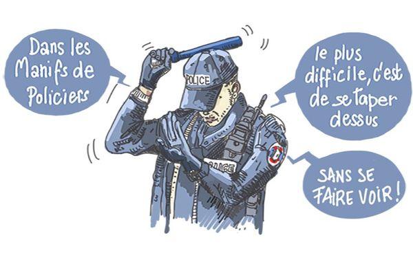 Le regard de François Schmidt, dessinateur à France 3 Champagne-Ardenne.