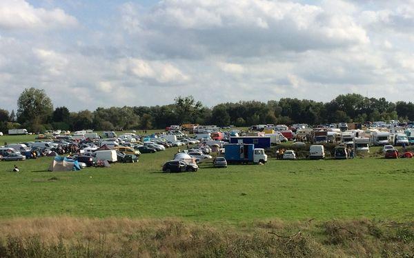 Les participants au Teknival commencent à arriver en nombre