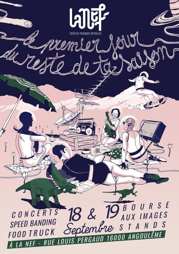 Le premier jour du reste de notre vie musicale à Angoulême...