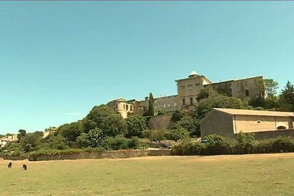 Le village d'Aubais, dans le Gard