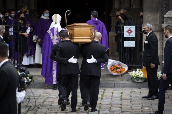 Les obsèques de Jean-Paul Belmondo ont eu lieu à l'Eglise Saint-Germain des Prés