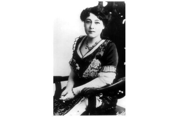La réalisatrice Alice Guy Blaché (1873-1968)