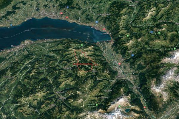 Le séisme s'est produit dans la région de La Chapelle-d'Abondance en Haute-Savoie.