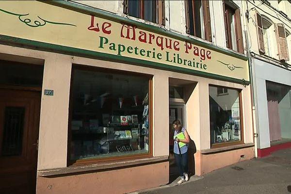 Dieuze : la fin d'une époque avec la fermeture de la librairie le Marque-Page