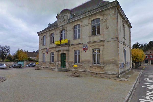 Brienne-le-Château, la mairie.