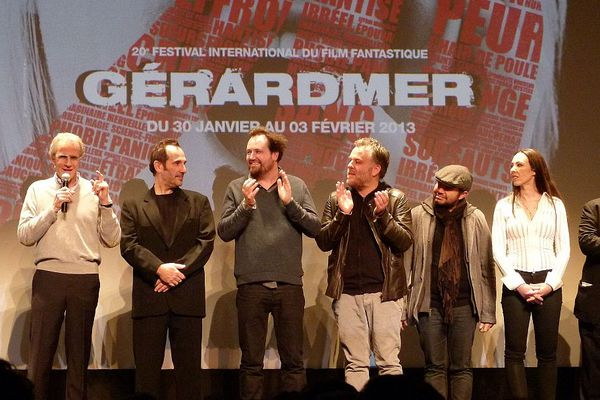 Christophe Lambert, Pitof, Xavier Palud, Pascal Laugier, Xavier Gens, Marina de Van et Marc Caro