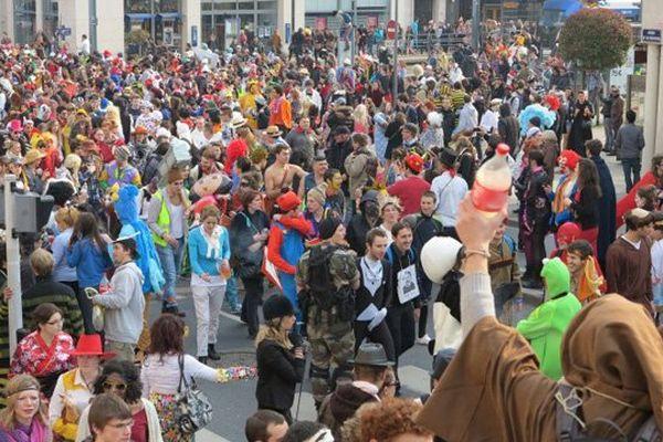En 2013, le carnaval étudiant de Caen a rassemblé près de 15 000 participants. Le record sera-t-il battu cette année ?