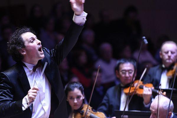 Le chef d'orchestre Alexandre Bloch, en septembre 2016.