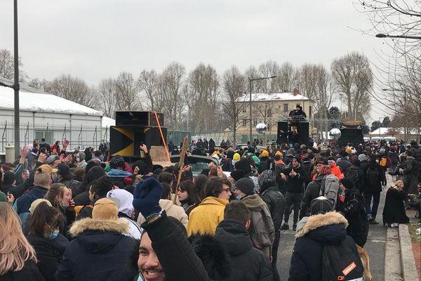 Rave Party de Lieuron : Manifestation de soutien à Lyon