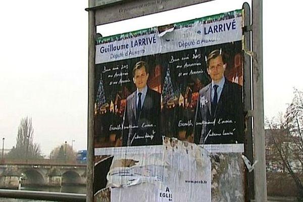 L'affiche de Guillaume Larrivé