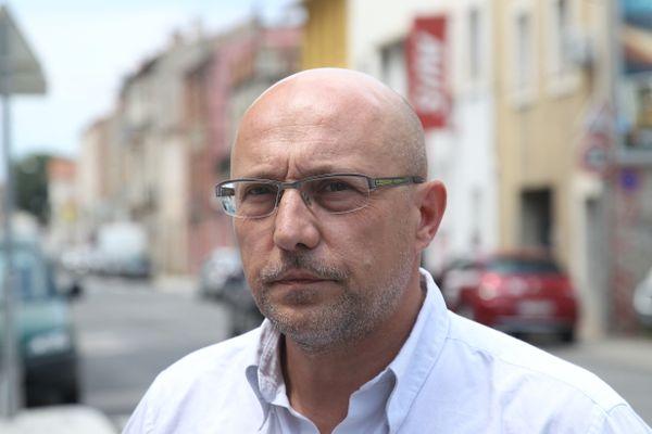 Maître Xavier Capelet à Perpignan en 2015.