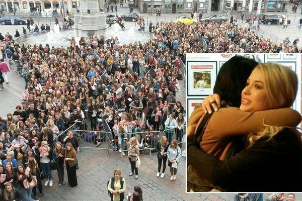4000 personnes environ pour Enjoy Phoenix à Lille ce mercredi.