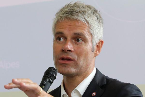 Laurent Wauquiez, président de la région Auvergne Rhône-Alpes