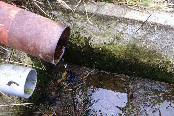 Octobre 2017 : pénurie d'eau exceptionnelle sur les monts de la Margeride dans le Cantal