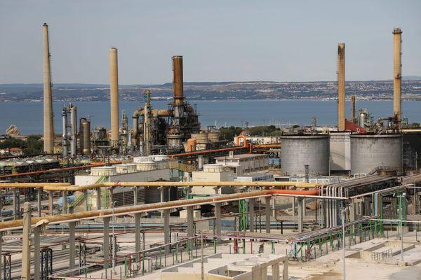 Illustration. La bioraffinerie du site de Total La Mède (Bouches-du-Rhône), près de Marseille.
