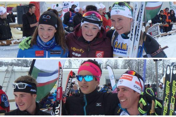 Les Jurassiens au sommet du championnat de France de biathlon à Bessans