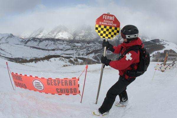 Risque fort d'avalanche ce lundi 8 janvier