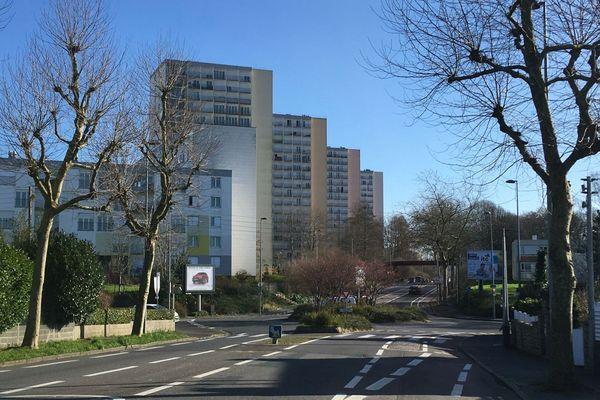 Le quartier de Pontanézen à Brest